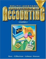 Cover of: Fundamentals of accounting course. |