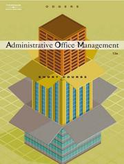 Cover of: Administrative office management