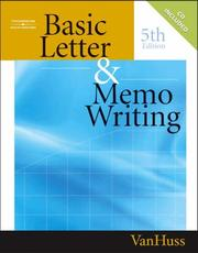 Cover of: Basic Letter and Memo Writing