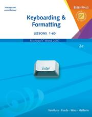 Cover of: Keyboarding and formatting essentials |