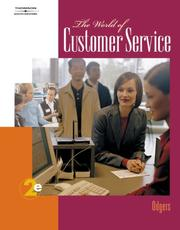 Cover of: The World of Customer Service | Pattie Gibson-Odgers