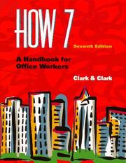 Cover of: HOW 7 | James Leland Clark
