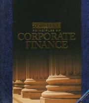 Cover of: Principles of Corporate Finance
