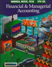 Cover of: Financial & managerial accounting | Carl S. Warren
