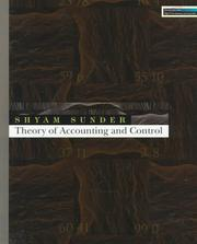 Cover of: Theory of accounting and control