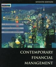 Contemporary financial management by R. Charles Moyer