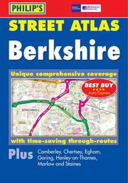 Cover of: Street Atlas Berkshire (Philip