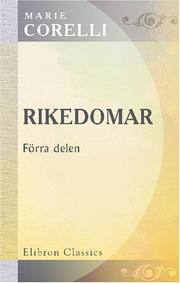 Cover of: Rikedomar (The Treasure of Heaven)