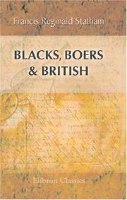 Cover of: Blacks, Boers, & British