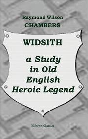 Cover of: Widsith