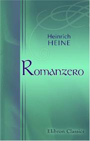Cover of: Romanzero