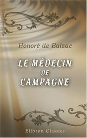 Cover of: Le médecin de campagne