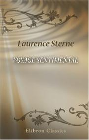 Cover of: Voyage sentimental