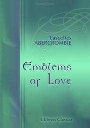 Cover of: Emblems of Love: designed in several discourses