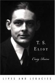 Cover of: T. S. Eliot (Lives and Legacies Series)