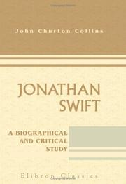 Cover of: Jonathan Swift | John Churton Collins