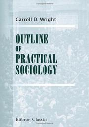Cover of: Outline of practical sociology