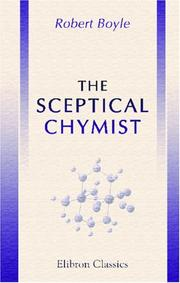 Cover of: The Sceptical Chymist | Robert Boyle