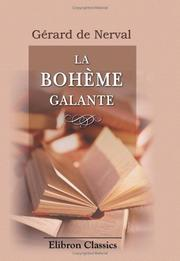 Cover of: La bohème galante