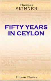 Cover of: Fifty Years in Ceylon