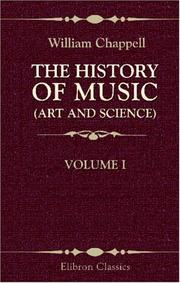 Cover of: The History of Music