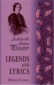 Cover of: Legends and lyrics