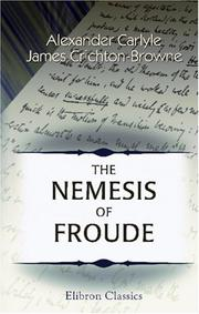 Cover of: The Nemesis of Froude