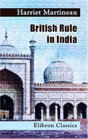 Cover of: British Rule in India; a Historical Sketch