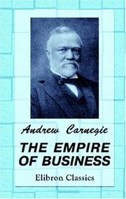 Cover of: The empire of business