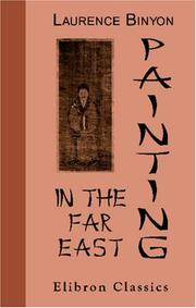 Cover of: Painting in the Far East