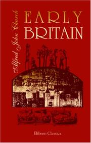 Cover of: Early Britain