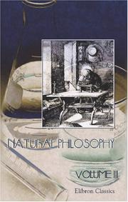 Cover of: Natural Philosophy | Author unknown