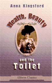 Cover of: Health, beauty, and the toilet