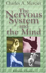 Cover of: The nervous system and the mind