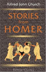 Cover of: Stories from Homer