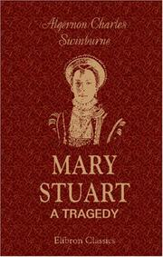 Cover of: Mary Stuart: a tragedy