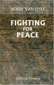 Cover of: Fighting for Peace