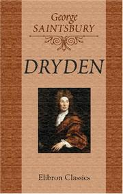 Cover of: Dryden