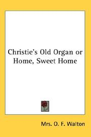 Cover of: Christie