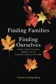 Cover of: Finding Families, Finding Ourselves | Veronica Strong-Boag