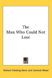 Cover of: The Man Who Could Not Lose