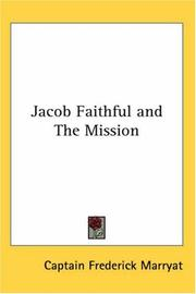 Cover of: Jacob Faithful and The Mission