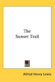Cover of: The sunset trail