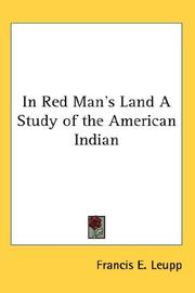 Cover of: In Red Man