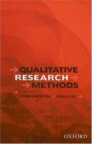 Cover of: Qualitative Research Methods
