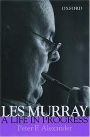 Cover of: Les Murray: a life in progress
