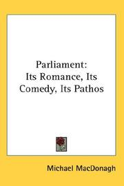 Cover of: Parliament