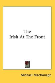 Cover of: The Irish At The Front