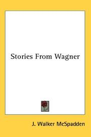 Cover of: Stories from Wagner