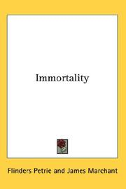 Cover of: Immortality